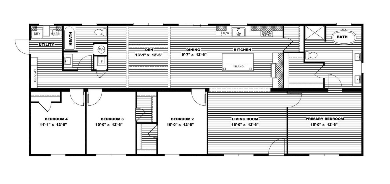Amelia, Lot 596 Floor Plan