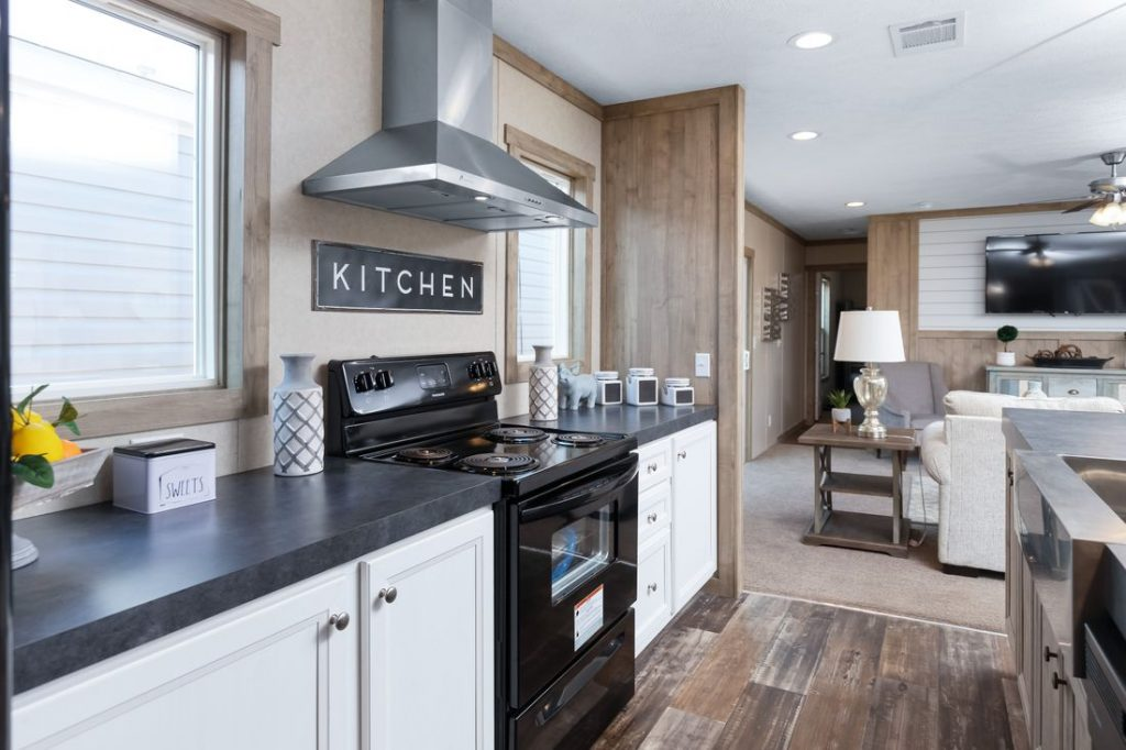 Kitchen of Mobile Home at Country Estates