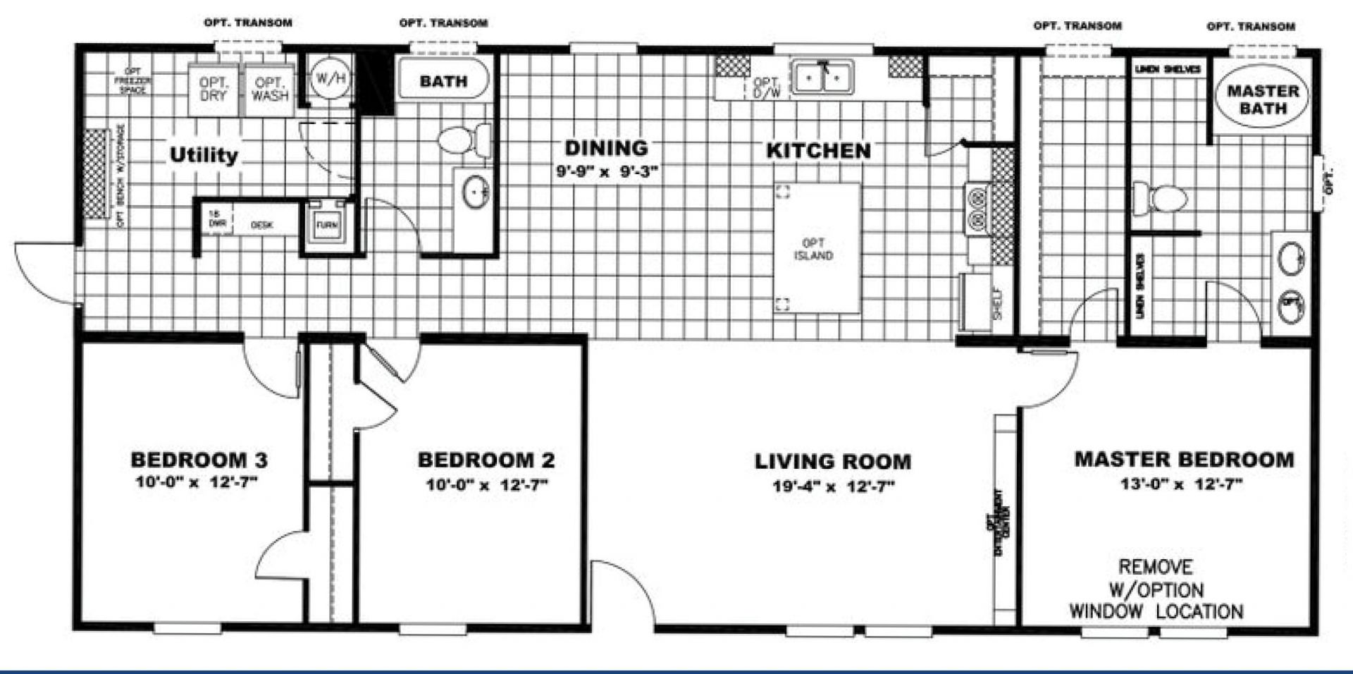 Pecos, Lot 593 Floor Plan