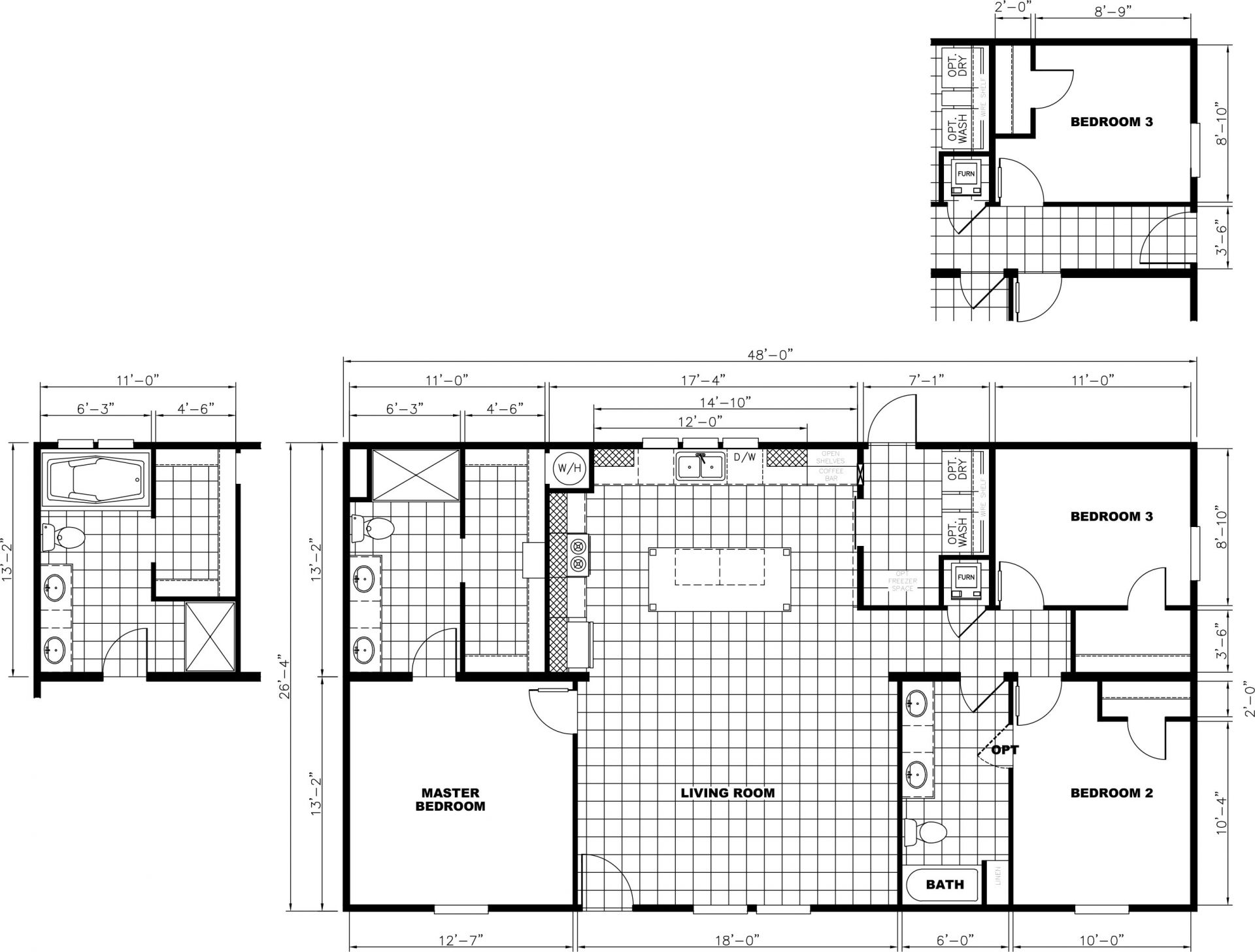 Renegade, Lot 590 Floor Plan