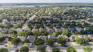 Homes as far as the eye can see in Austin